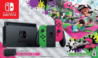 Exclusive Nintendo Switch Splatoon 2 Bundles Available At Walmart
