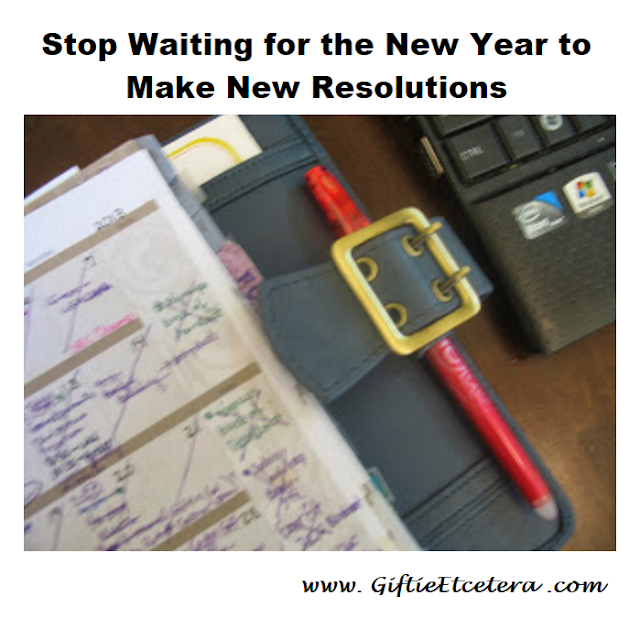 habits, New Year's Resolutions
