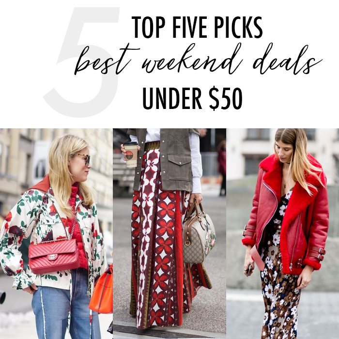 Best Sales This Weekend: Daily Style Finds: February 2017