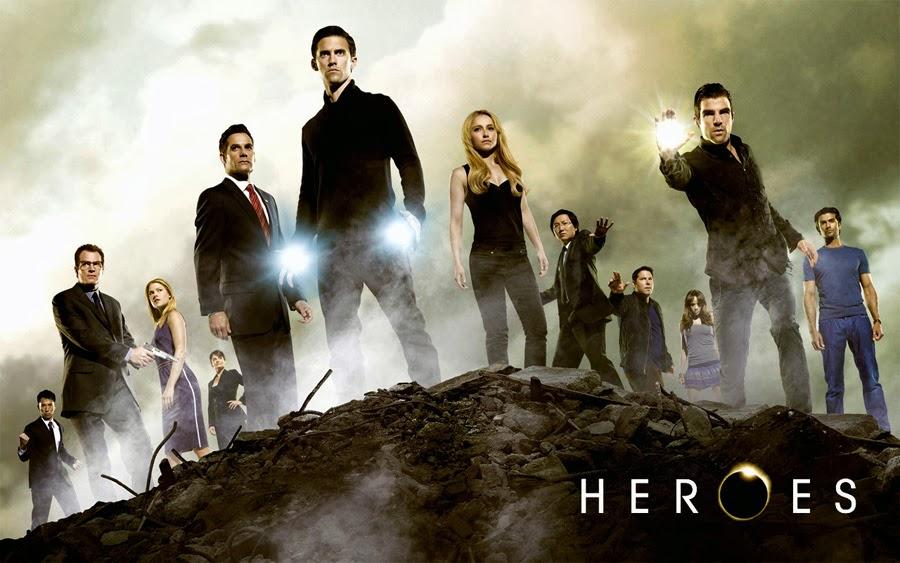 Promo pentru serialul popular Heroes