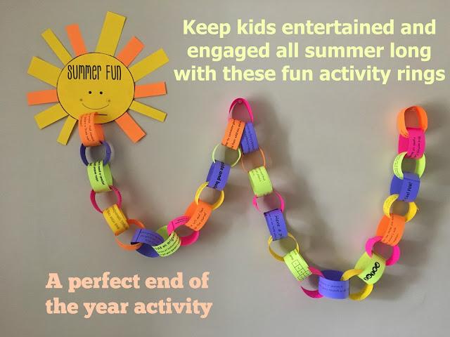 Summer fun Activity Rings