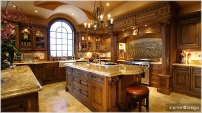 Classic Kitchen Decorations for Luxury Homes 6