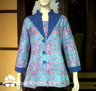 blouse batik murah