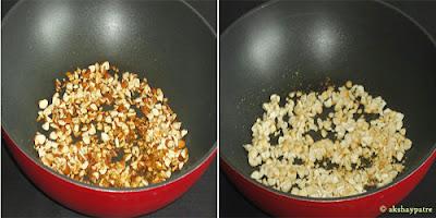 roasted badam and kaju