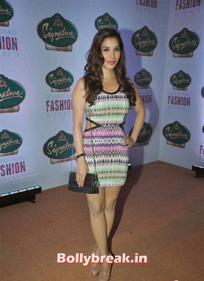 Sophie Choudhary, Hot Celebs at Signature International Fashion Weekend
