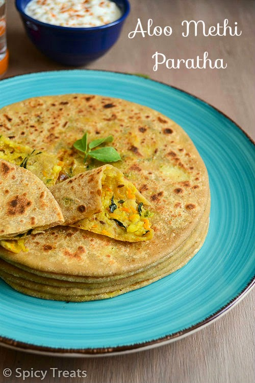 20+ Paratha Recipe / Whole Wheat Stuffed Parathas