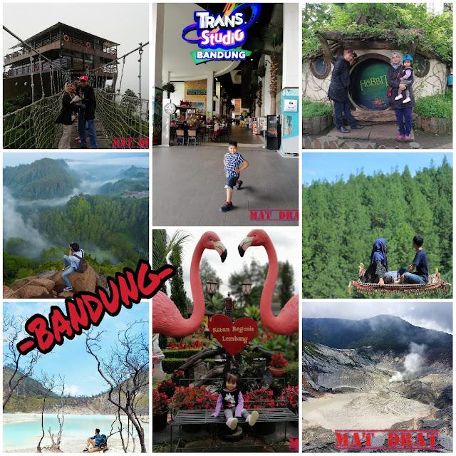 Percutian Bandung Melancong Tempat Menarik di Bandung
