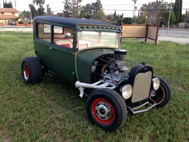 Rodcitygarage 1929 Ford Tudor Sedan