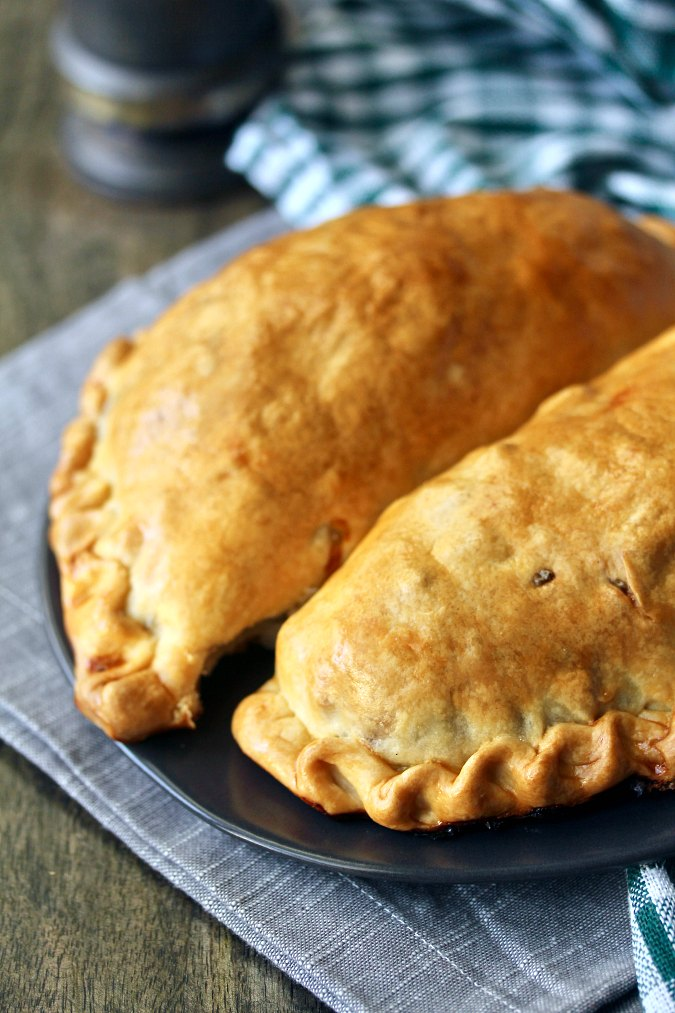 Cornish Pasties with beef