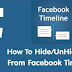 How to Hide A Post On Facebook