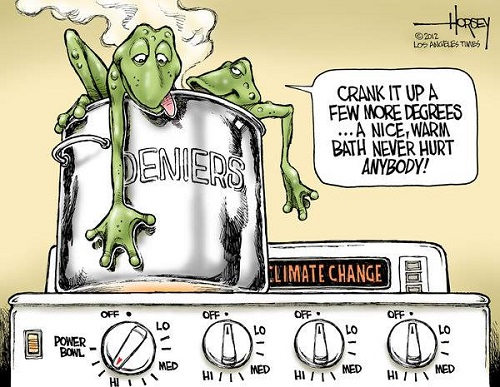 Toon of the Week - Crank It Up a Few More Degrees ... A Nice, Warm Bath Never Hurt Anybody!