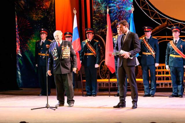 В канун Дня военных Пахомов пожелал всем мира Сергиев Посад
