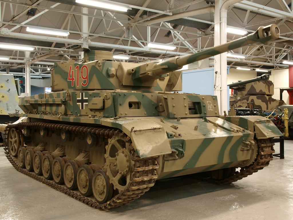 Panzer IV G - WW2 Weapons