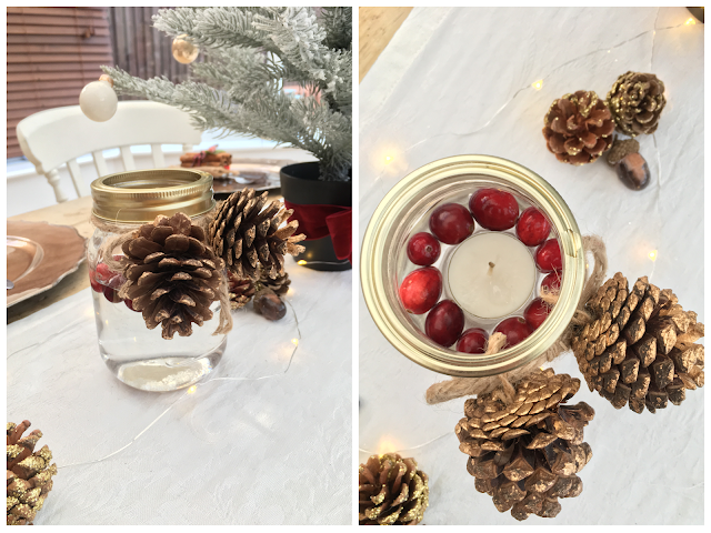 simple easy diy Christmas decorations to make for your home room for pennies on a tight budget