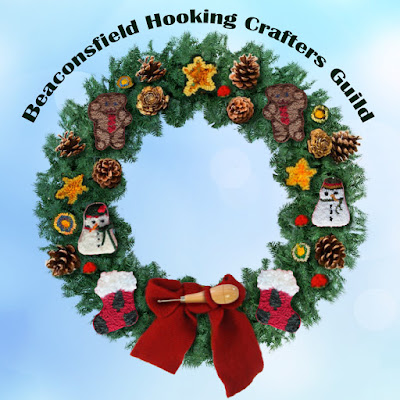 hooked garland