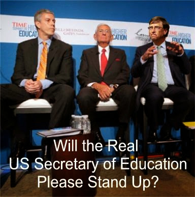 Image result for big education ape will the real education secretary please stand
