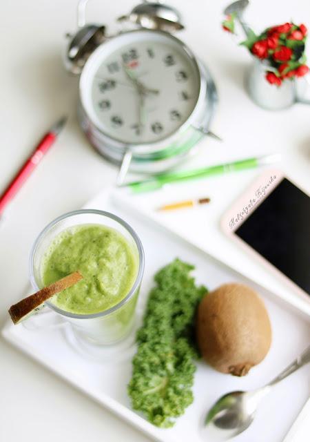 zielone smoothie, napoje z błonnikiem, zdrowe przekąski, zamiast słodyczy, daylicooking