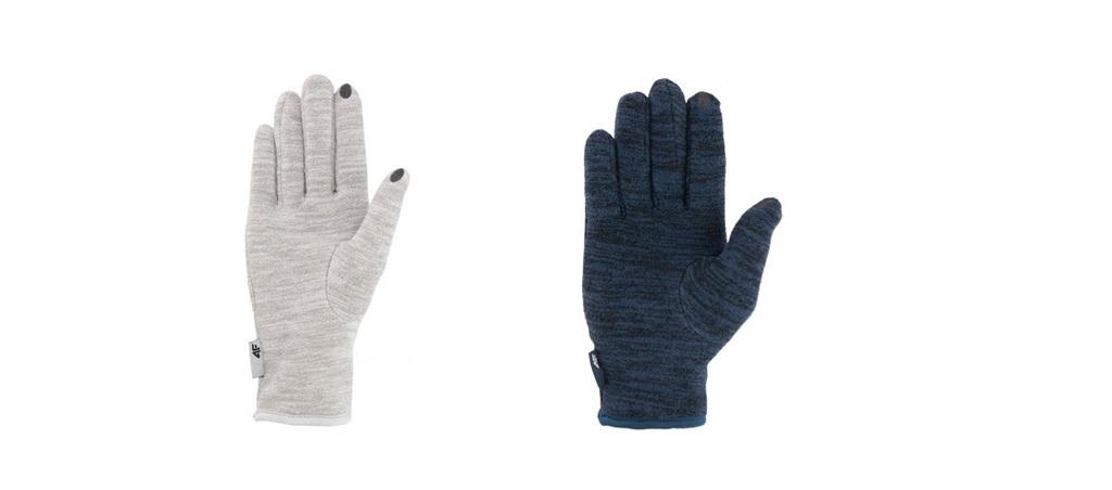Rękawiczki dotykowe sportowe 4f