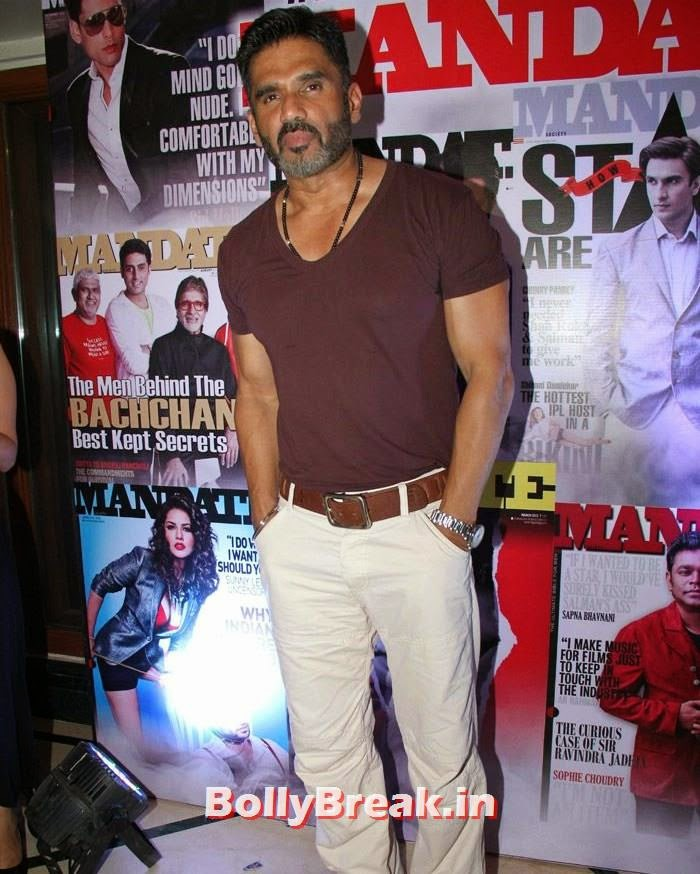 Suniel Shetty, Mandate Model Hunt 2014 Grand Finale Photo Gallery