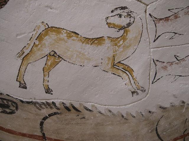Paintings from the tomb of Petosiris at Muzawaka (XLVIII)