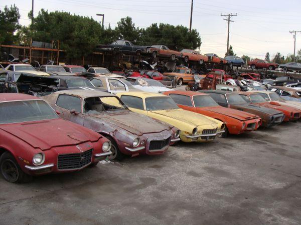 Old Junkyards Japanese Cars