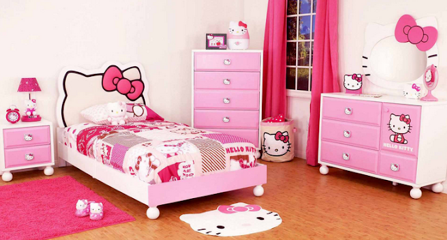 Beautiful room to pamper your only daughter