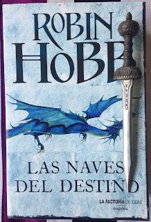 Portada del libro Las naves del destino, de Robin Hobb