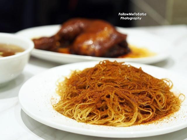Prawn Roe Dry Noodle RM 12.90 (S) RM 14.90 (L)