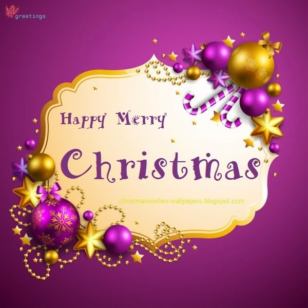 10 most beautiful merry christmas greetings wallpapers