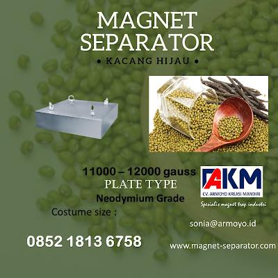 magnet separator kcang hijau