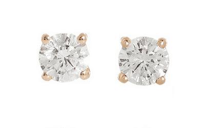 Anita KO Solitaire Diamond Studs Jewellery Every Woman SHould own