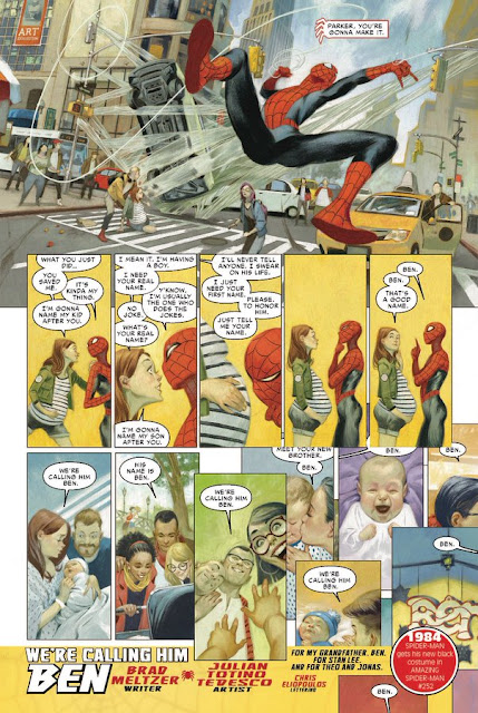 Marvel 1000 Spider-Man story by Brad Meltzer, Totino Tedesco and  Chris Eliopoulos