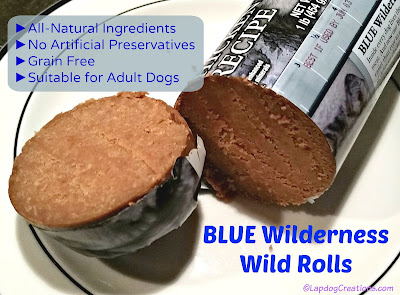 BLUE Wilderness Wild Rolls #BlueBuffalo #ChewyInfluencer #LapdogCreations ©LapdogCreations #sponsored