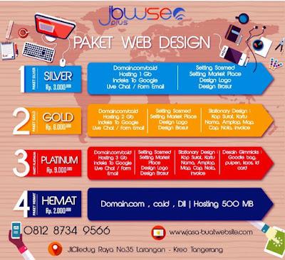 Price List Buat Website, Pembuatan Website, Daftar Harga Pembuatan Website