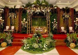 dekorasi pernikahan murah tapi mewah