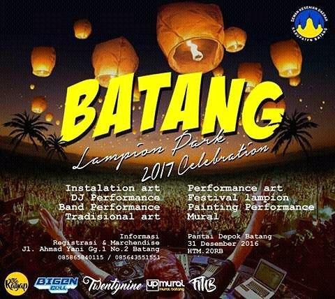 "Event Batang | Malam Tahun Baru 2017 "" Batang Lampion Park 2017 Celebration"""
