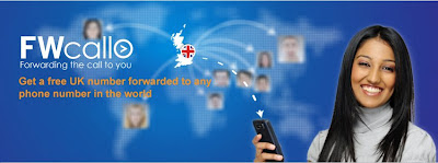 Get free UK number, get forwarded to any international number, make free calls from UK