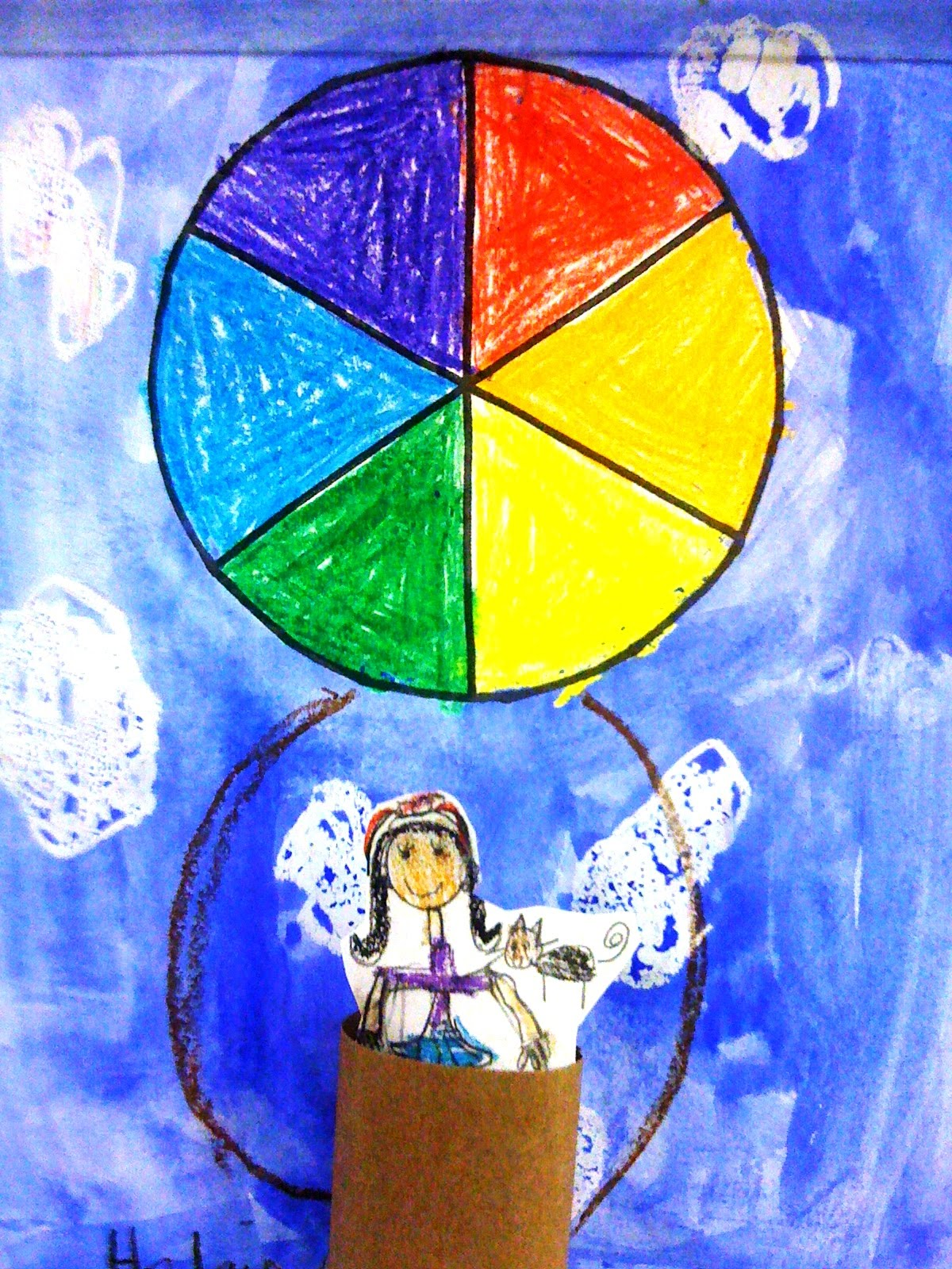 Lesson Plan Wednesday Color Theory Hot Air Balloons
