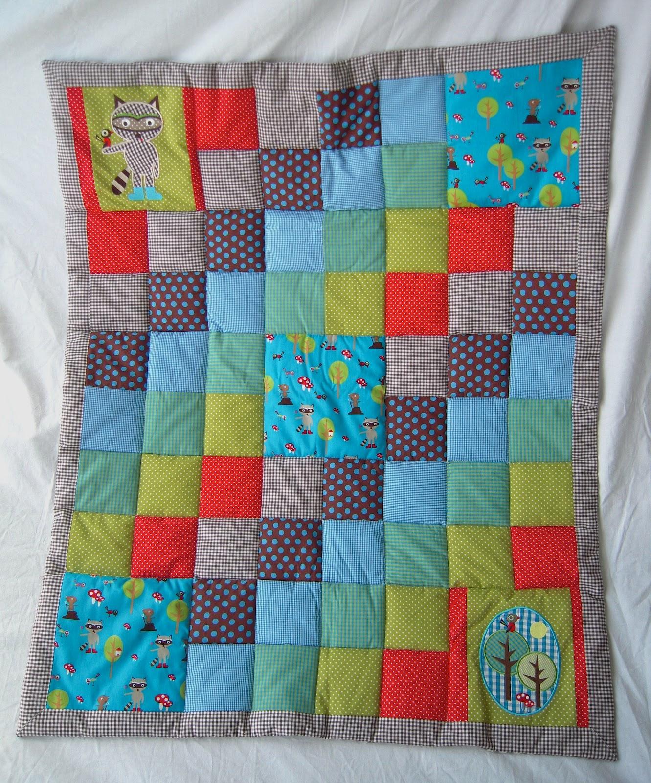 d 39 inge patchwork babydecke waschb r. Black Bedroom Furniture Sets. Home Design Ideas