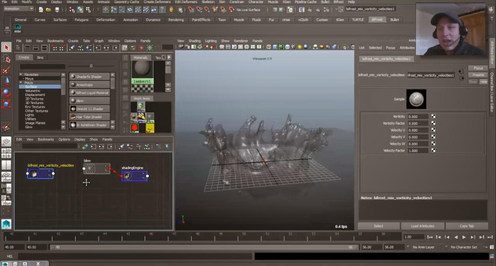 Autodesk Maya Bifrost tutorial: Shader | CG TUTORIAL