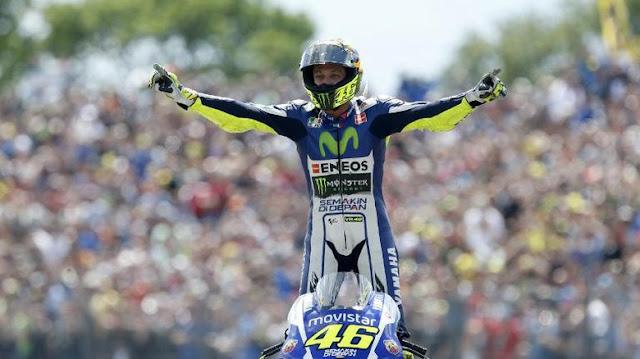 Rossi Dominasi Kemenangan di Assen dalam 10 Tahun Terakhir