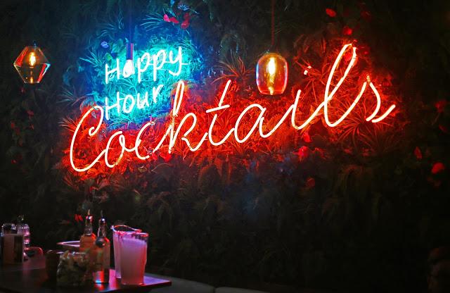 Cocktails at Las Iguanas Temple Street Birmingham Review