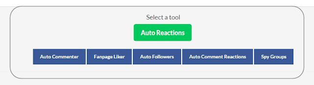 AutoReaction.com Naikkan FB Fan Page Anda