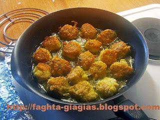 Κολοκυθοκεφτέδες με κίτρινη κολοκύθα - από «Τα φαγητά της γιαγιάς»