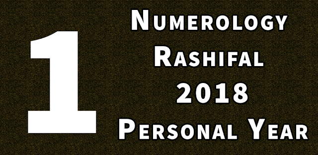 personal year 1 numerology 2018