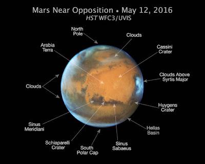 Марс наблизиться до Землі на рекордно близьку відстань