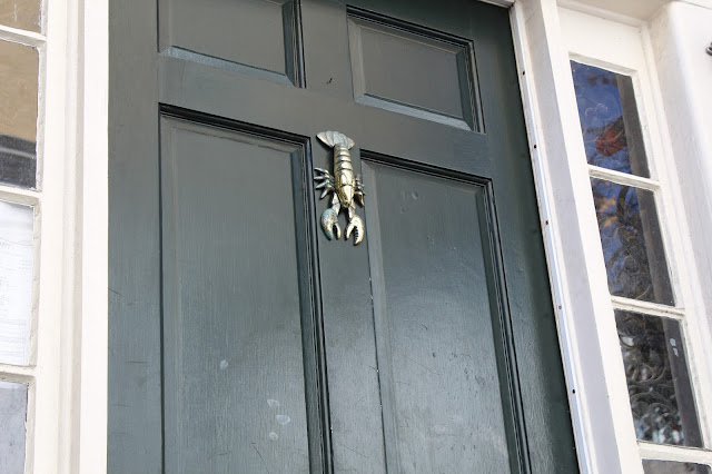 A New England Lobster Door