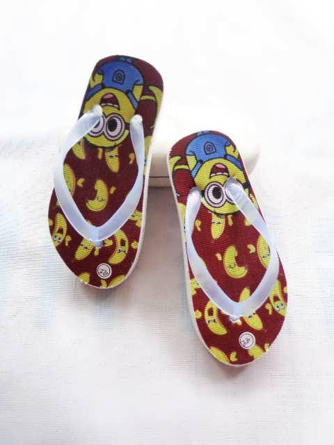 Sandal Karakter Spon Baby Lucu - Pabrik Sandal Jepit Murah