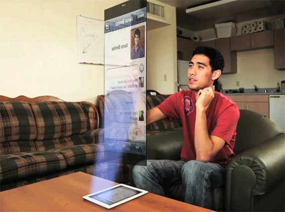 Holographic Display Technology and Future 3D Hologram TV and Phones