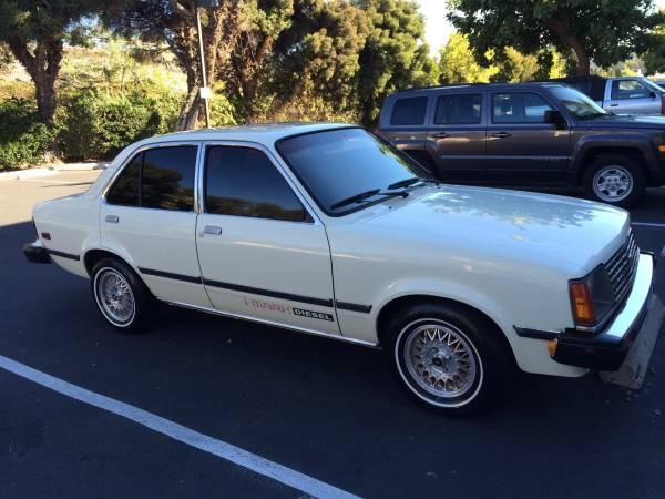 1984 Isuzu I mark Diesel Sedan Auto Restorationice
